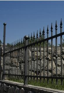 exemple barrière de jardin