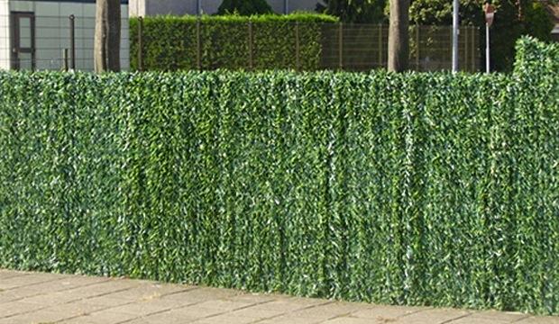 haie artificielle types de vert