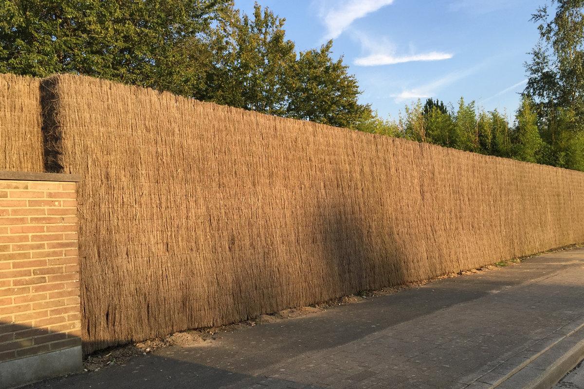 Brande de bruy re comme cl ture jardin possibilit s prix - Europe cloture materiaux ...