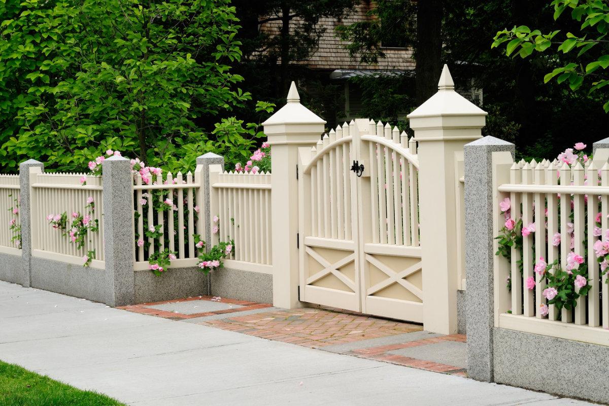 barrière de jardin