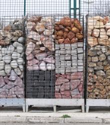 gabions sortes de pierres